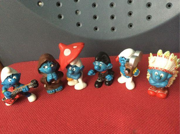 Set figurine Strumfi de colectie