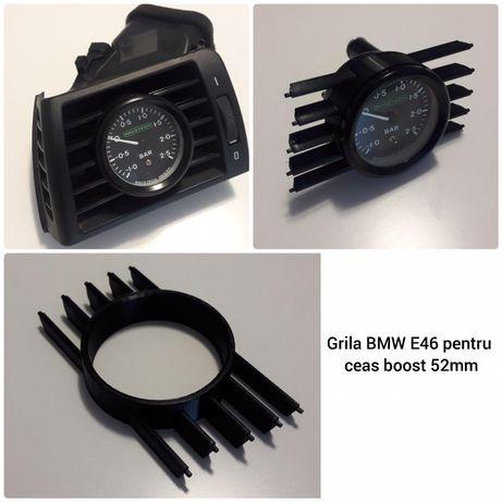 Grila ceas boost / turbo 52mm BMW seria 3  E90, E91, E92, E93 si E46