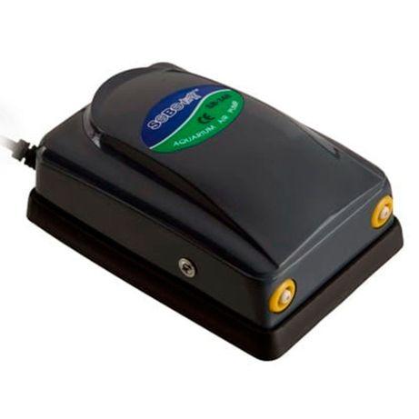 Въздушна помпа / компресор за аквариум Sobo двуканална 2x4л/мин
