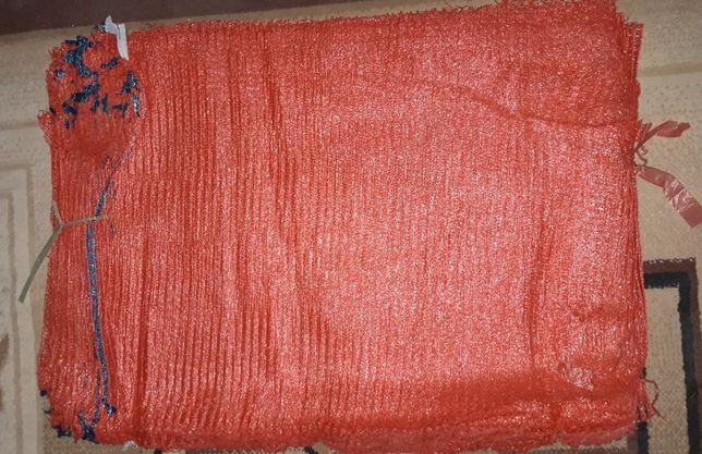сетка мешки красные