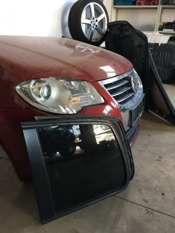 Geam lateral spate Vw Touran Facelift 2008