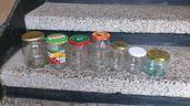 Продавам стъклени буркани