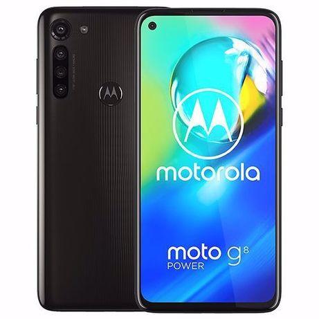 Motorola Moto G8 Power , Dual SIM , 64GB , 4GB RAM , 4G - Black - NOU