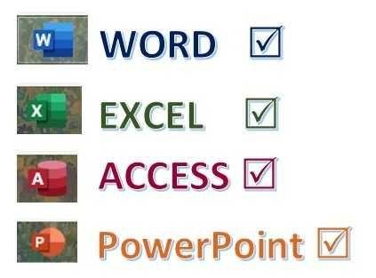 Meditații / cursuri MS Excel, Word, Access, Power Point