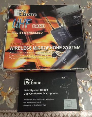 """Инструментальный микрофон """"The t bone"""""""