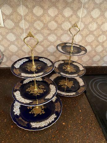 Посуда, этажерка для фруктов и сухофруктов
