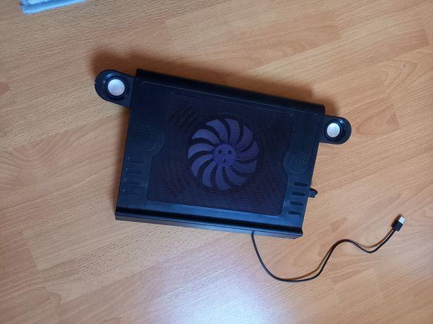 Cooler Laptop cu boxe audio