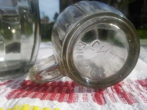 Продавам чаши от 50-те години на миналия век- за бира и за ракия