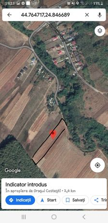 Vând teren intravilan Albota