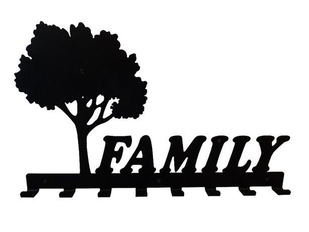 Cuier metalic Copacul Family 8 agatatoare
