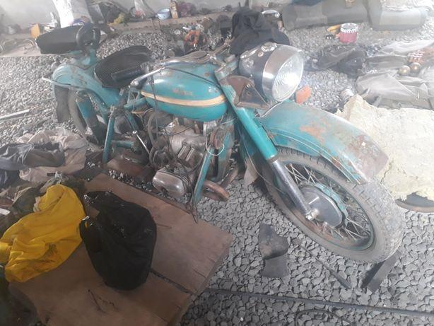 Мотоцикл Урал 6 вольтовый