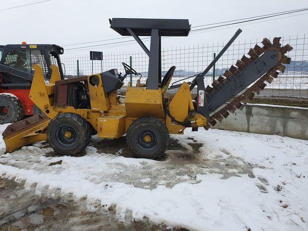 Trencher CASE 460, Kubota 50 cp, Sapă la 1,60 ml, Credit= 12900 €