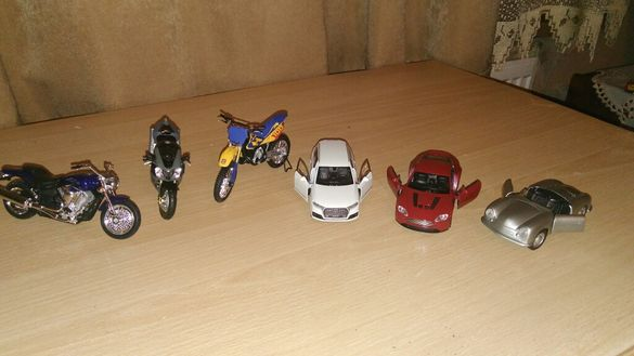 Умалени автомобили и мотори