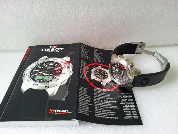 Ceas Tissot T-Touch Sapphire Crystal cu Stativ