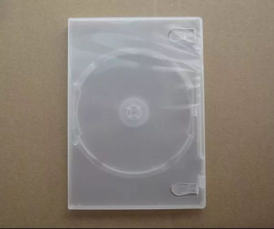 Чехол бокс коробка пластик для DVD CD 14 мм