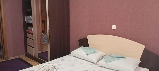 2 комнат квартира посуточно Байтурсынова Жумабаева Вокзал