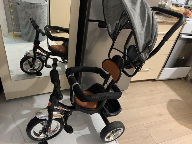 Новый детский трехколесный велосипед