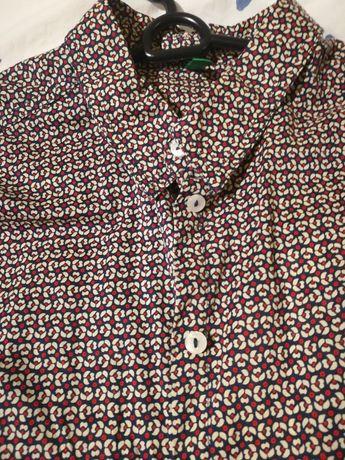 Памучни Ризи Benetton,