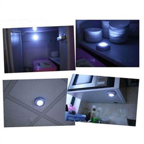 Vand lampa led prin atingere pentru spatii intunecate