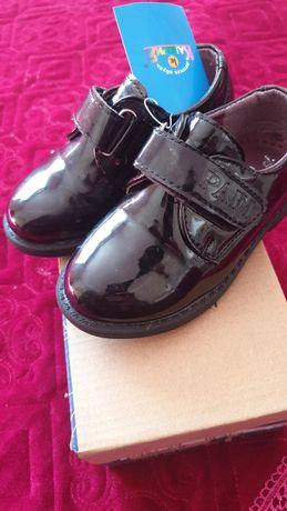 Детская обувь, 22размер туфли для мальчика на 2 3годика