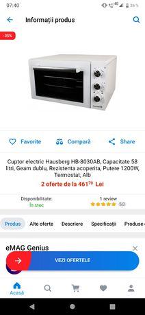 Cuptor electric nou