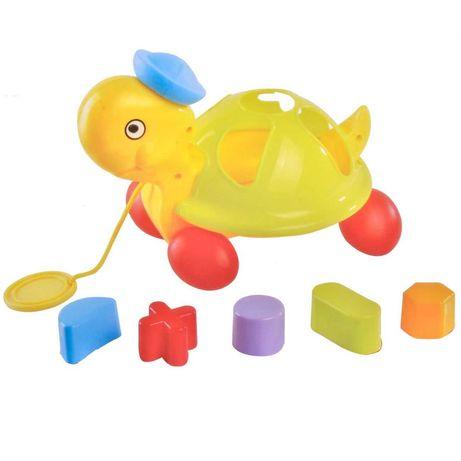 Jucarie educativa pentru bebelusi - Broasca Testoasa colorata