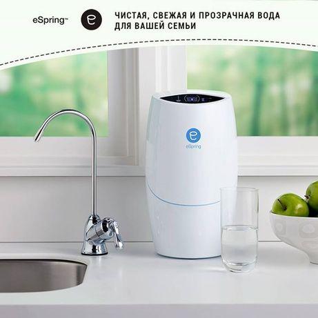 eSpring -  – бренд № 1 в мире по продажам домашних систем очистки воды