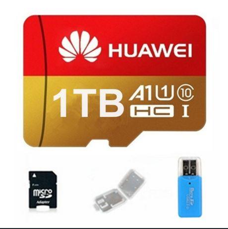 Card de memorie Micro SD Huawei 1 Tb 1000 GB+adaptor sticla+adaptor Sd