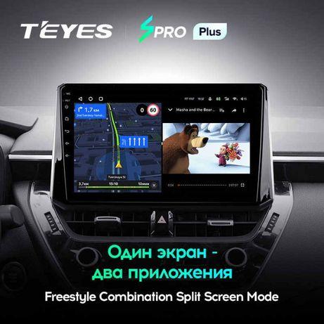 Штатная магнитола Toyota Corolla E210 TEYES CC3 / SPROplus