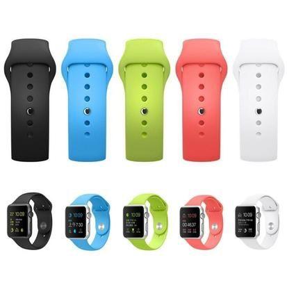 Apple Watch Curea Bratara Ceas Din Silicon Soft Diferite Culori