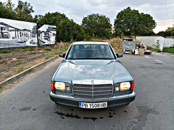 Mercedes w126 300se Пура