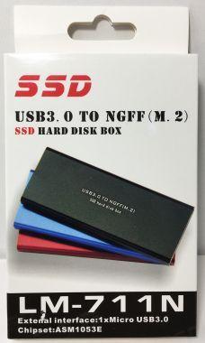 Rack Extern M.2, NGFF SSD, USB 3.0