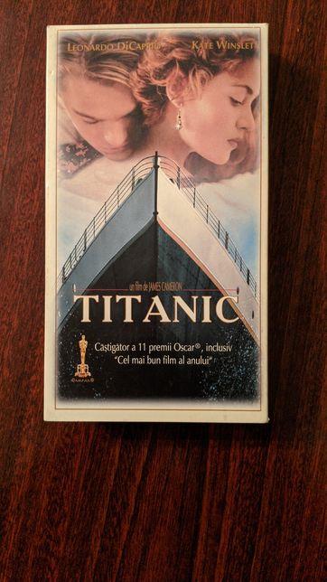 Titanic casetă video originală română