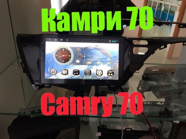 Магнитола Тойота Камри 70 Toyota Camry 70 Андроид DSK ШГУ Мультимедиа