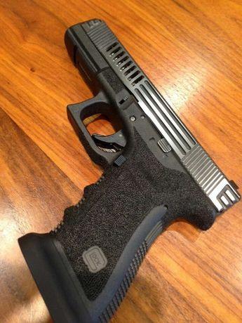 Glock FULL METAL Cu Aer Comprimat Recul !! Pistol Airsoft