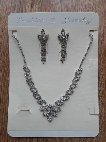 Set elegant colier + cercei