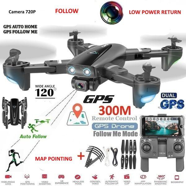 Drona cu GPS si Camera 4K,zbor 25 minute, Marime 44 cm Noua, Wi-Fi FPV Galati - imagine 1