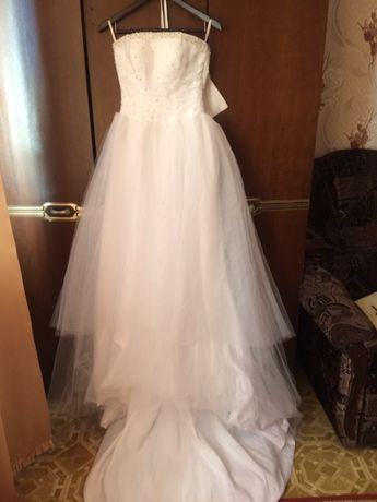 Продам свадебное платье !
