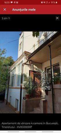 Apartament vila 4 camere si curte proprie Sincai Tineretului Carol