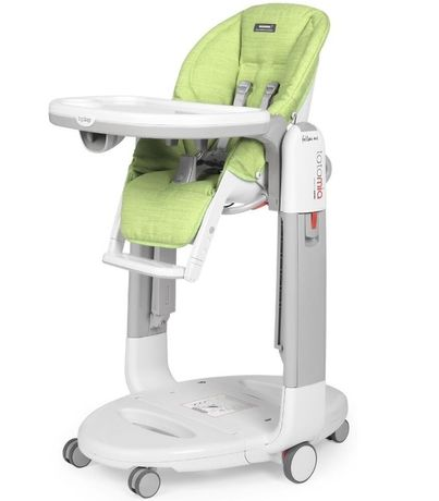 Стульчик Peg Perego Tatamia Follow Me Wonder Green и grey