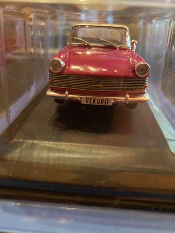 Vand Macheta Auto Opel Rekord P2, 1961, Metalica, Scara 1:43!