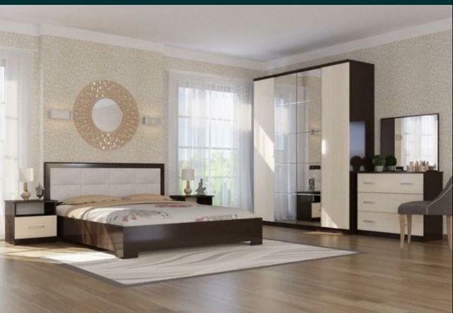 Спальный гарнитур Диана 4дв Мебель со склада