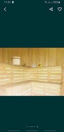Уютная баня на дровах
