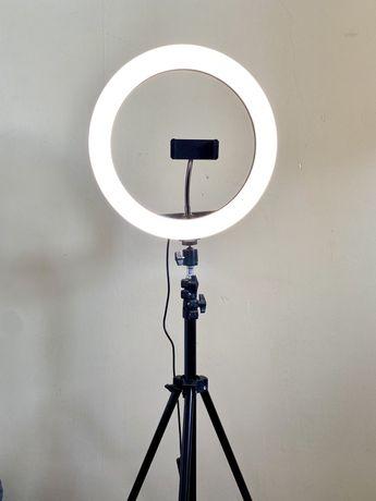 Кольцевая лампа RGB LED (цветная)