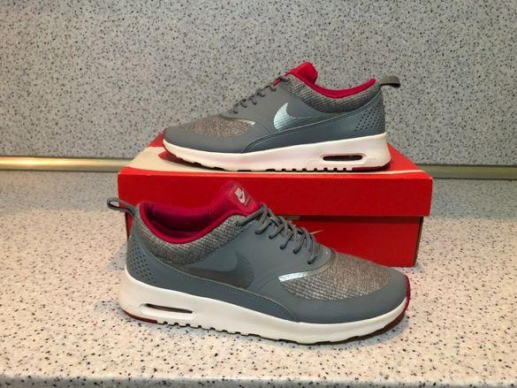 ОРИГИНАЛНИ *** Nike Air Max Thea Jacquard  Grey Pink White