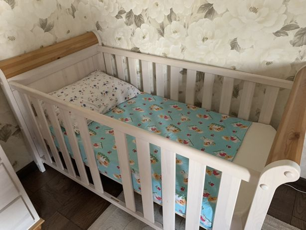Манеж-кровать детская