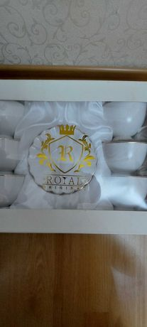 Чайный набор (6 чашек с блюдцами)