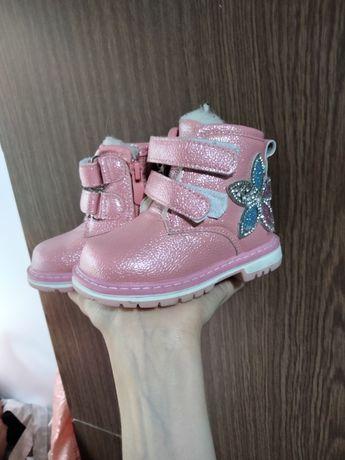 Детские ботиночки зима на девочку