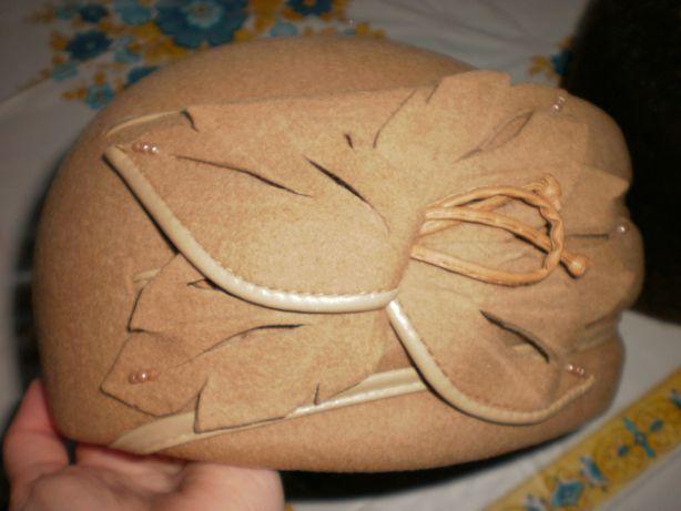Продам новую женскую фетровую шапку