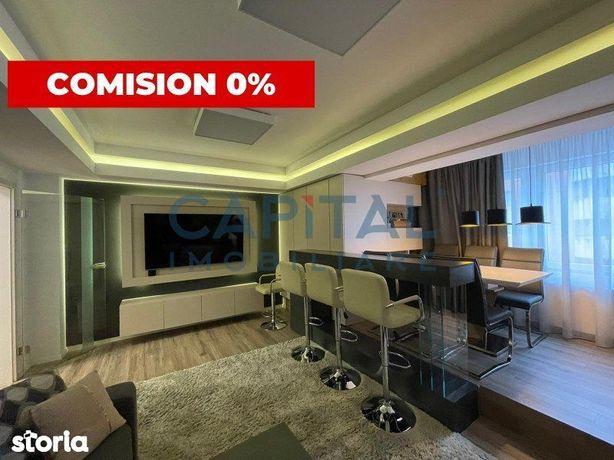Apartament ultrafinisat, 94mp, 2 bai, garaj, comision 0% la cumparare!
